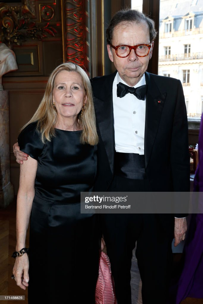 <a gi-track='captionPersonalityLinkClicked' href=/galleries/search?phrase=Louis+Schweitzer&family=editorial&specificpeople=555449 ng-click='$event.stopPropagation()'>Louis Schweitzer</a> and his wife attend Gala of AROP at Opera Garnier with representation of 'La Sylphide' on June 24, 2013 in Paris, France.