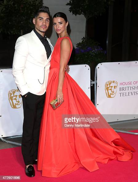 Louis Smith and Lucy Mecklenburgh attends the After Party dinner for the House of Fraser British Academy Television Awards at The Grosvenor House...