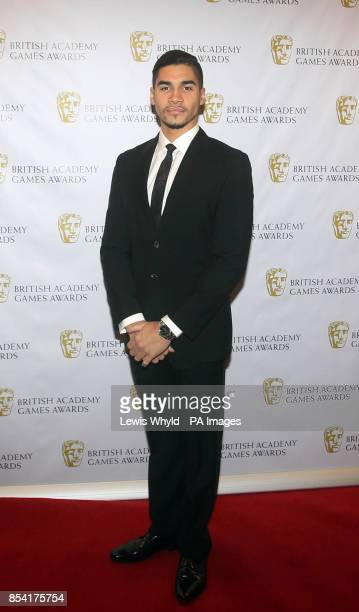 Louis Smith attending the British Academy Video Games Awards at the London Hilton Park Lane London
