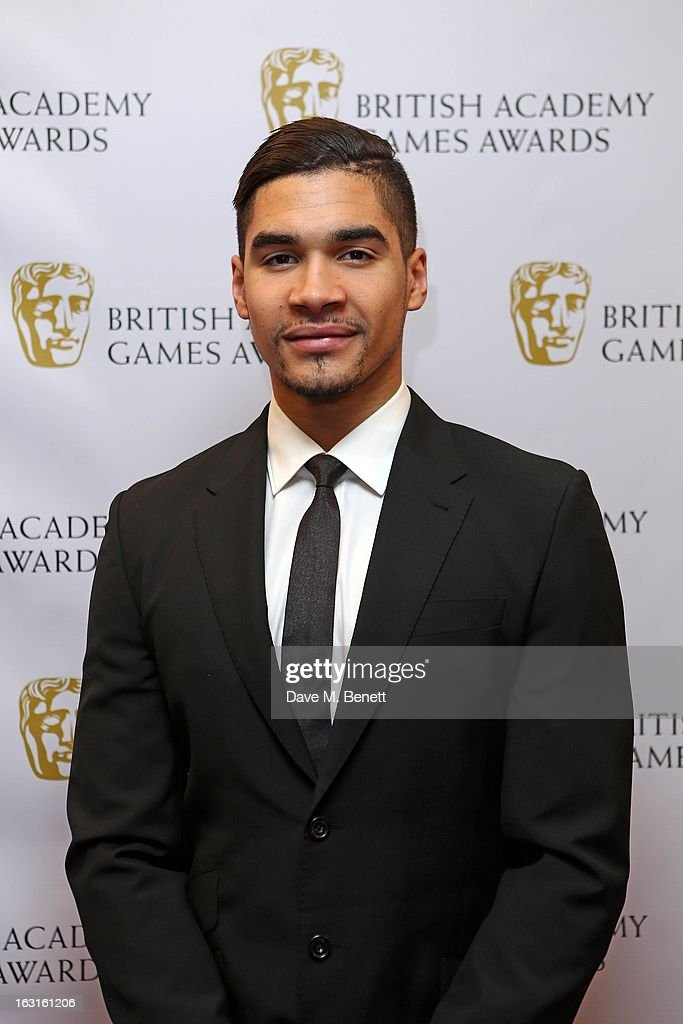 Louis Smith attends The British Academy Games Awards at London Hilton on March 5, 2013 in London, England.
