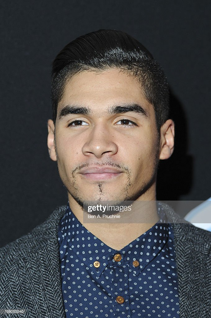 Louis Smith attends the Lynx L.S.A launch event at Wimbledon Studios on January 10, 2013 in London, England.