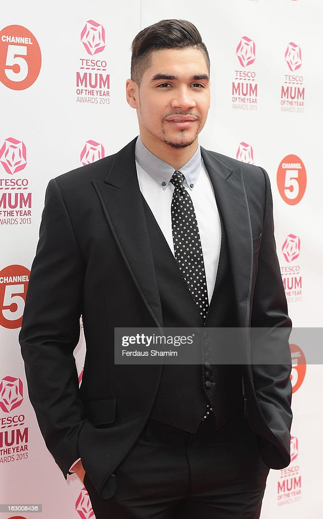 Louis Smith attends the Tesco Mum of the Year awards at The Savoy Hotel on March 3, 2013 in London, England.