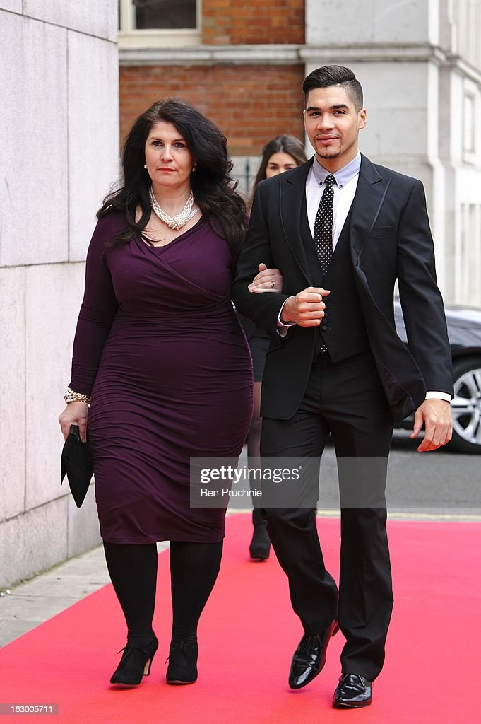 Louis Smith sighted arriving at The Savoy Hotel on March 3, 2013 in London, England.