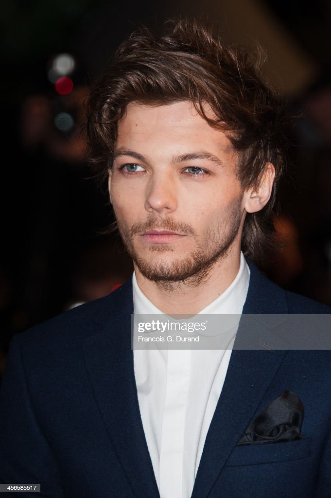 Louis Tomlinson of One Direction attends the 15th NRJ Music Awards at Palais des Festivals on December 14, 2013 in Cannes, France.