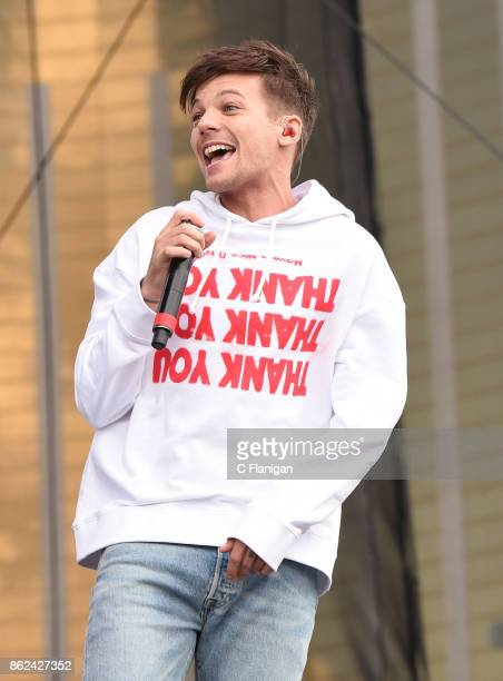 Louis Tomlinson performs onstage during the Daytime Village Presented by Capital One at the 2017 HeartRadio Music Festival at the Las Vegas Village...