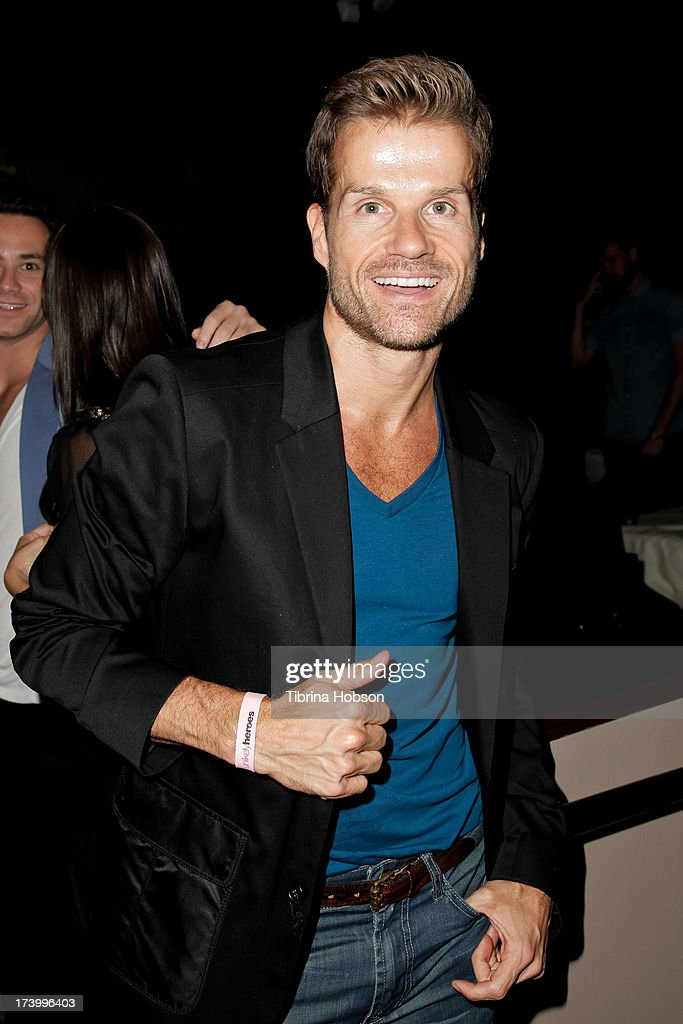 Louis Van Amstel attends Chelsie Hightower and Peta Murgatroyd's birthday party supporting anti-human trafficking organization 'Unlikely Heroes' on July 18, 2013 in Los Angeles, California.