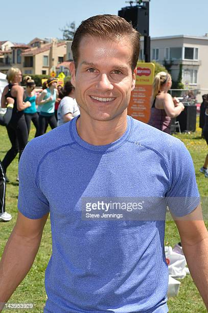 Louis Van Amstel attends the Self Magazine 19th Annual Workout In The Park at Little Marina Green on May 5 2012 in San Francisco California