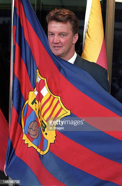 Louis van Gaal of Barcelona during the season 1997/1998 in Barcelona Spain