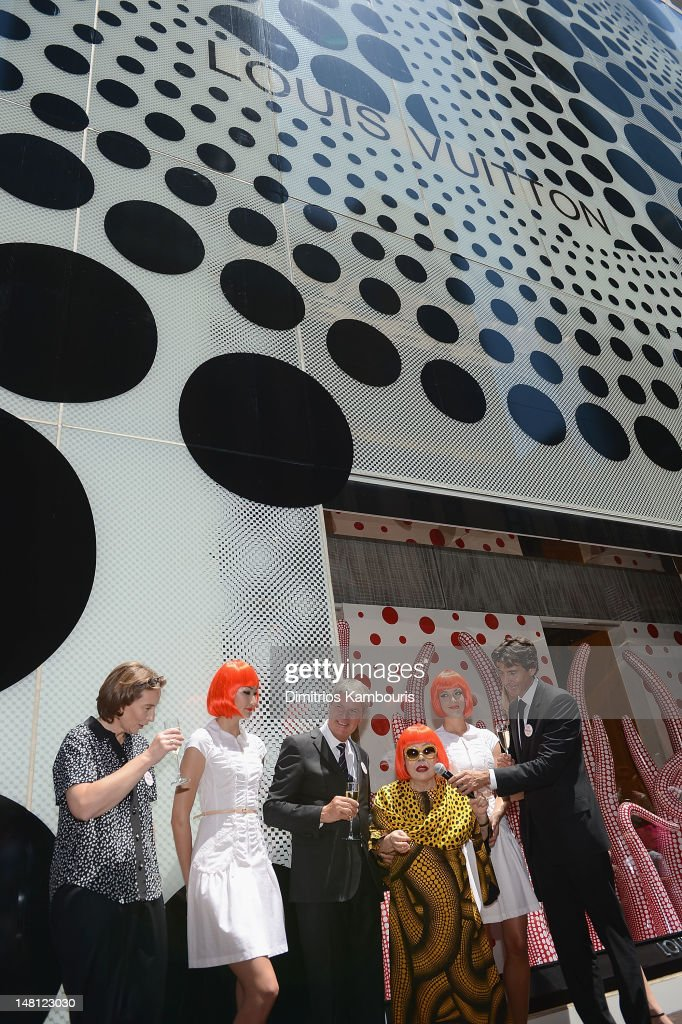 Louis Vuitton And  Yayoi Kusama Collaboration Unveiling