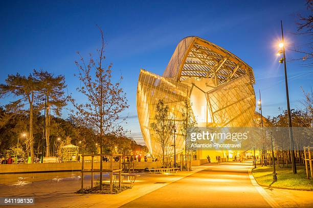 Louis Vuitton Foundation at Bois de Boulogne
