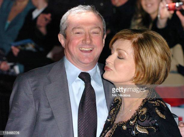 Louis Walsh and Sharon Osbourne during 2006 Pride of Britain Awards Red Carpet at The London Television Studios in London Great Britain