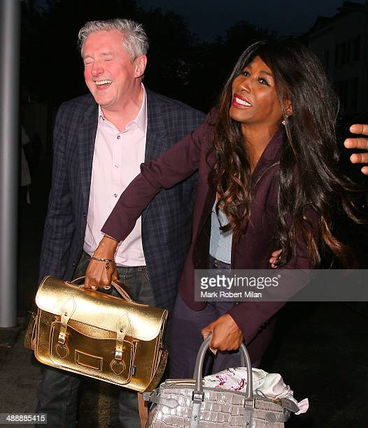 Louis Walsh and Sinitta attending the London Cabaret Club VIP opening night at the Collection on May 8 2014 in London England