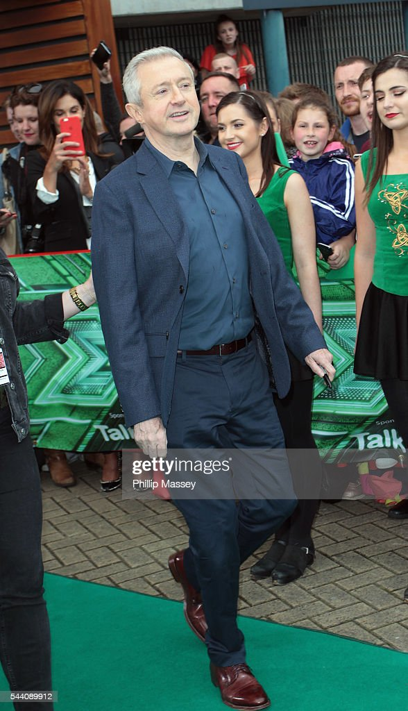 <a gi-track='captionPersonalityLinkClicked' href=/galleries/search?phrase=Louis+Walsh&family=editorial&specificpeople=240131 ng-click='$event.stopPropagation()'>Louis Walsh</a> arrives at the Dublin X Factor auditions at Croke Park on July 1, 2016 in Dublin, Ireland.