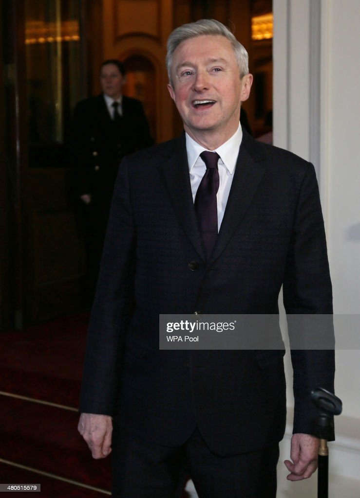 <a gi-track='captionPersonalityLinkClicked' href=/galleries/search?phrase=Louis+Walsh&family=editorial&specificpeople=240131 ng-click='$event.stopPropagation()'>Louis Walsh</a> arrives for an Irish Community Reception at Buckingham Palace on March, 25, 2014. The reception is in a advance of Ireland's President Michael D Higgins who will be the first Irish President to pay a state visit to Britain in April.
