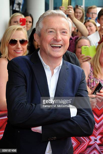 Louis Walsh arrives for the first X Factor auditions of 2016 on June 10 2016 in Leicester United Kingdom