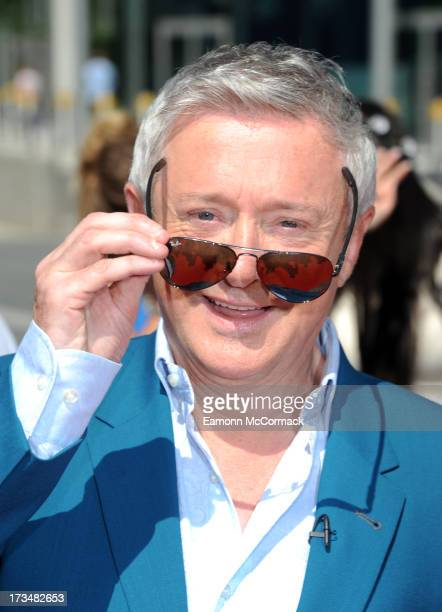 Louis Walsh arrives for the London auditions of The X Factor at Wembley Arena on July 15 2013 in London England