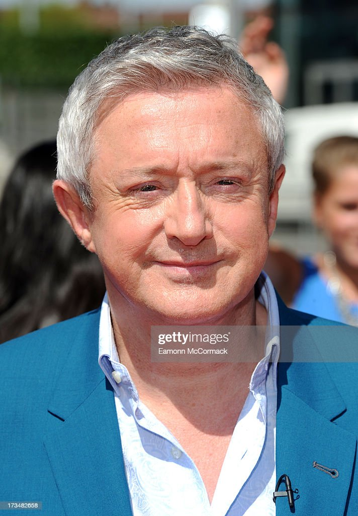 <a gi-track='captionPersonalityLinkClicked' href=/galleries/search?phrase=Louis+Walsh&family=editorial&specificpeople=240131 ng-click='$event.stopPropagation()'>Louis Walsh</a> arrives for the London auditions of The X Factor at Wembley Arena on July 15, 2013 in London, England.