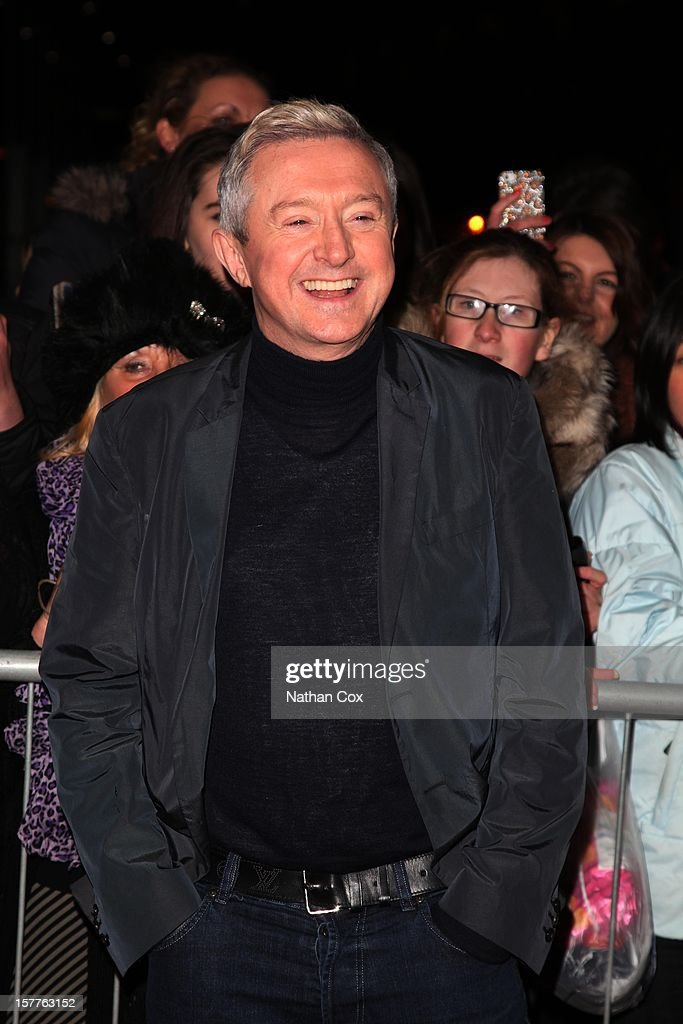 Louis Walsh attends a press conference ahead of the X Factor final this weekend at Manchester Conference Centre on December 6, 2012 in Manchester, England.