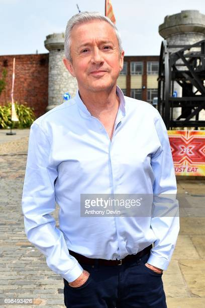 Louis Walsh attends the first day of auditions for the X Factor at The Titanic Hotel on June 20 2017 in Liverpool England