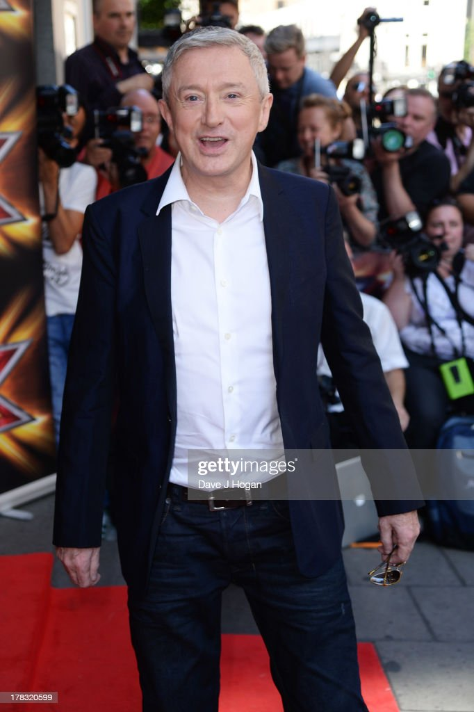 Louis Walsh attends The X Factor press launch at The Mayfair Hotel on August 29, 2013 in London, England.