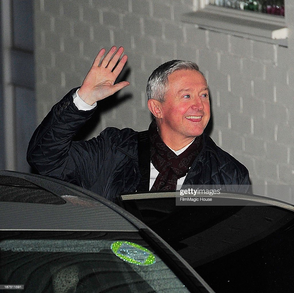 Louis Walsh leaves the X Factor studio on November 9, 2013 in London, England.