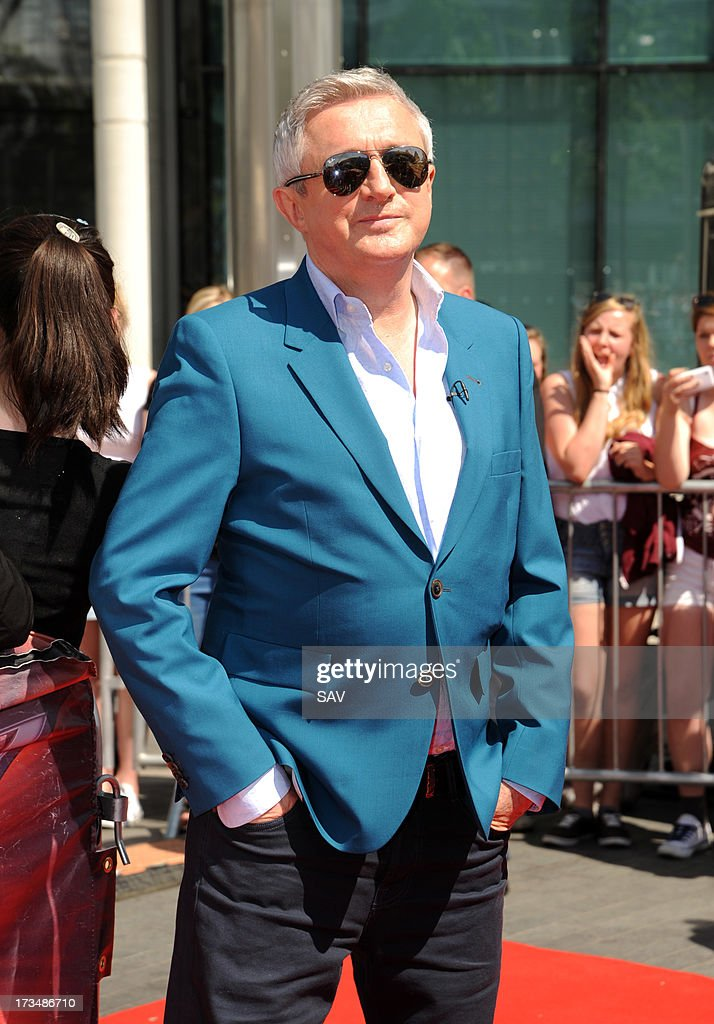Louis Walsh pictured arriving at Wembley Arena for the X Factor auditions on July 15, 2013 in London, England.