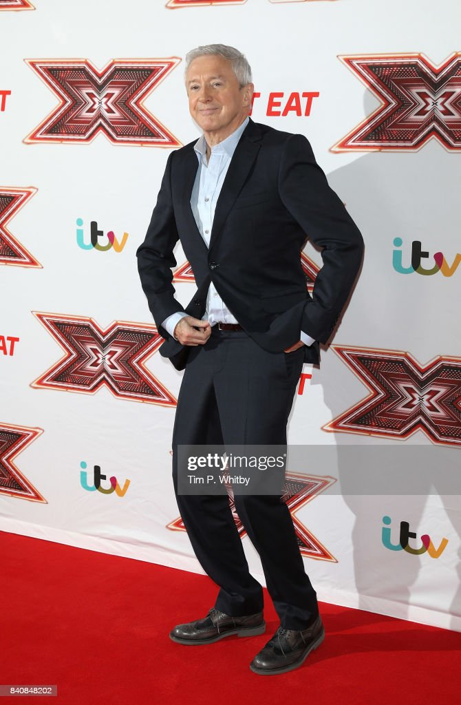 Louis Walsh poses for a photo during The X Factor Series 14 red carpet press launch at Picturehouse Central on August 30, 2017 in London, England.