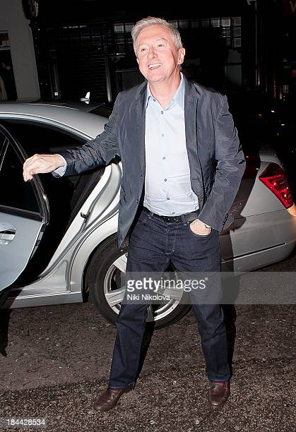Louis Walsh sighted arriving at The Arts Clib Mayfair on October 13 2013 in London England