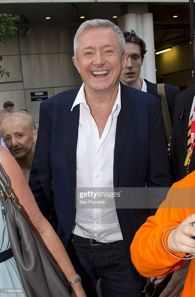 Louis Walsh sighted at BBC Radio Studios on August 29, 2013 in London, England.
