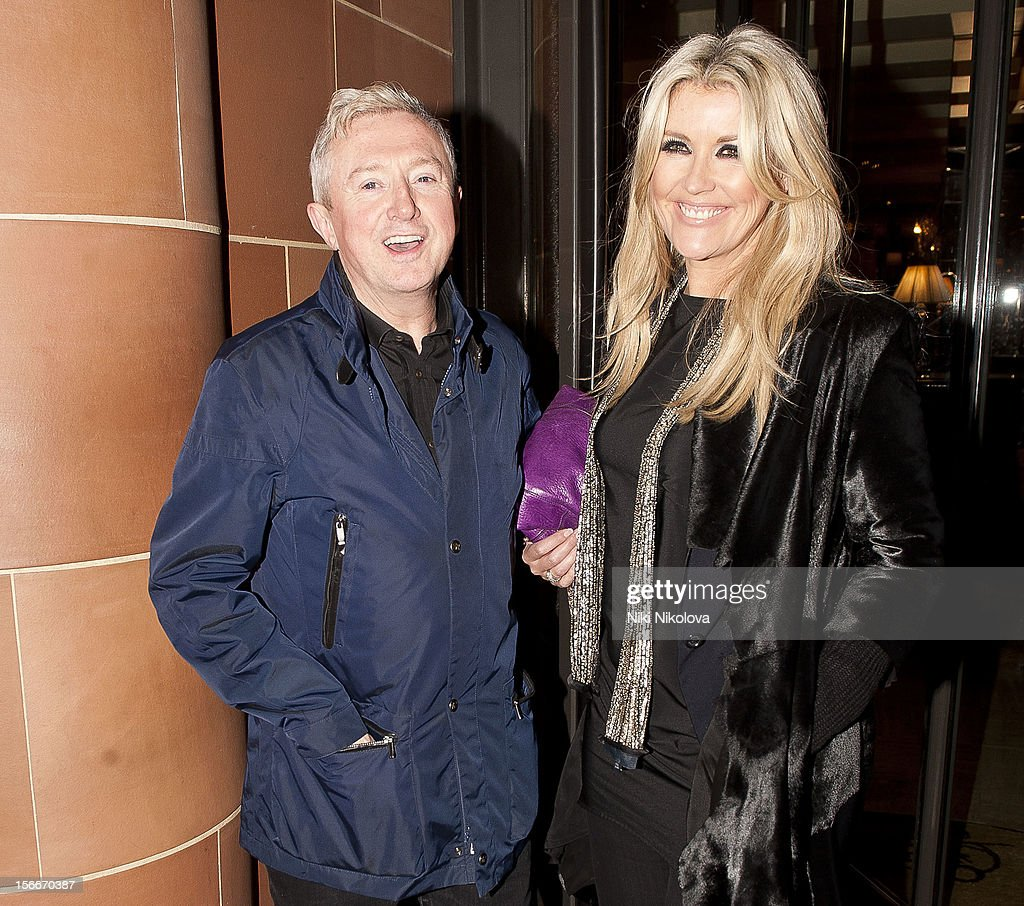 Louis Walsh (L) sighting on November 18, 2012 in London, England.