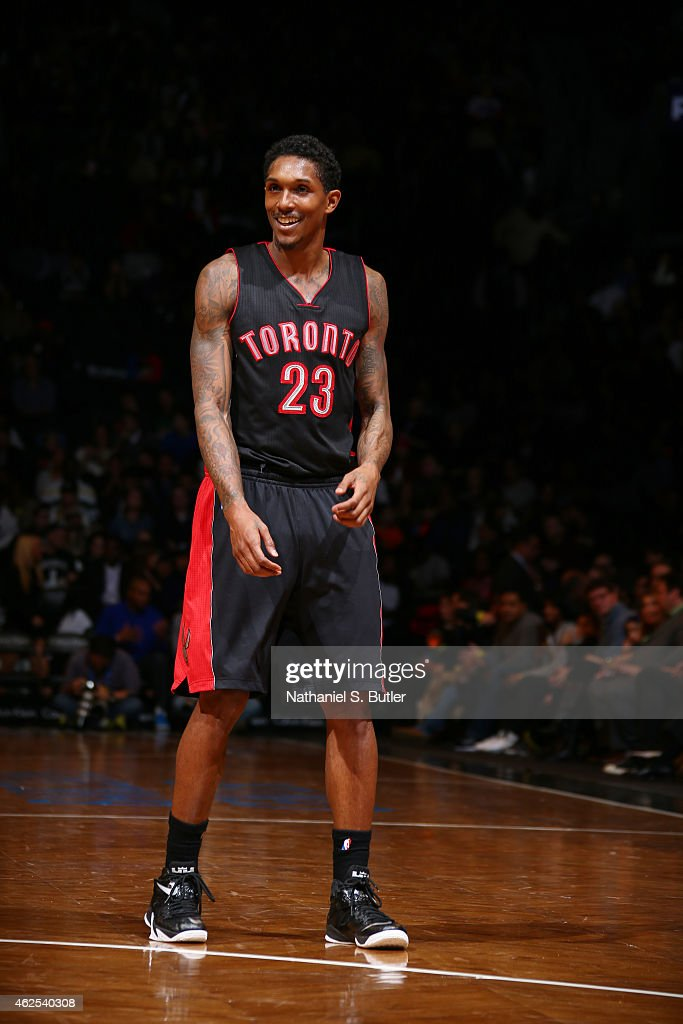 Louis Williams of the Toronto Raptorsduring the game against the Brooklyn Nets on January 30 2015 at Barclays Center in Brooklyn New York NOTE TO...