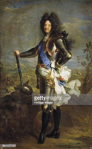 Louis XIV King of France 1701 Found in the collection of the Museo del Prado Madrid
