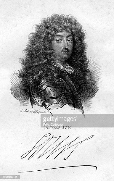 Louis XIV King of France Although Louis inherited the French crown in 1643 he did not actually take the reigns of power until the death of his Chief...