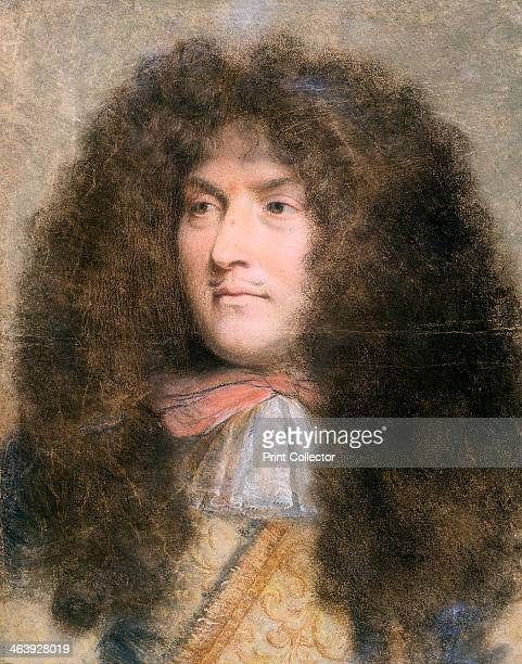 Louis XIV King of France c1660c1670 Louis king from 1643 as a young man From the Musee du Louvre Paris