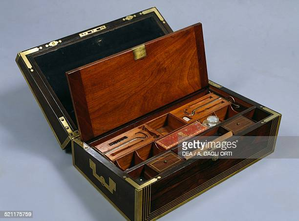 Louis XVIstyle box with a travel toilet set for men France 18th century France