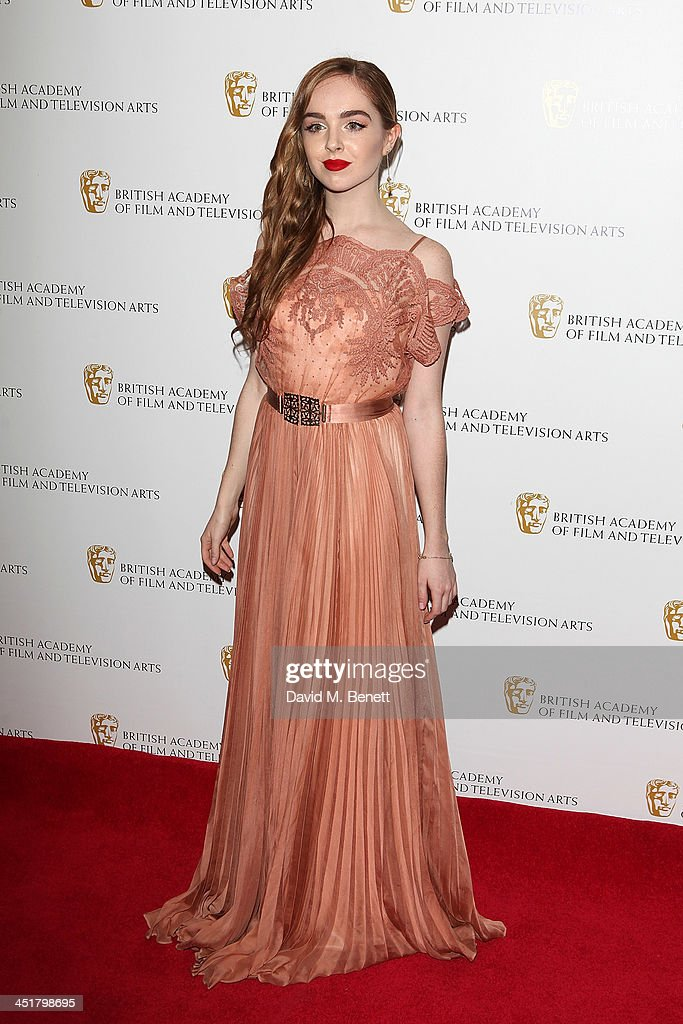 Louisa Connolly-Burnham attends the British Academy Children's Awards at the London Hilton on November 24, 2013 in London, England.