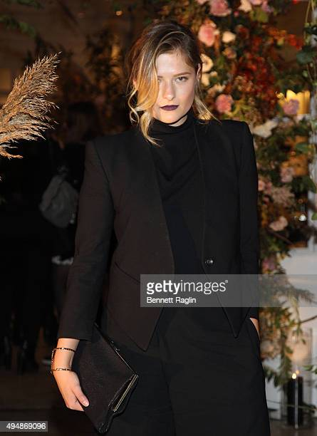 Louisa Gummer attends the Club Monaco Flagship Store Anniversary event at Club Monaco Fifth Avenue on October 29 2015 in New York City