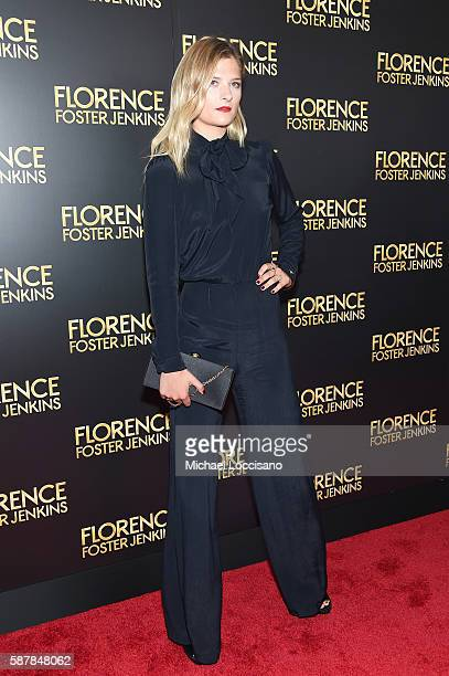 Louisa Gummer attends the 'Florence Foster Jenkins' New York premiere at AMC Loews Lincoln Square 13 theater on August 9 2016 in New York City