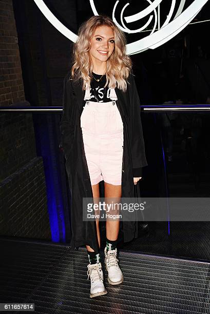 Louisa Johnson attends the Apple Music Festival as Chance the Rapper performs at The Roundhouse on September 30 2016 in London England