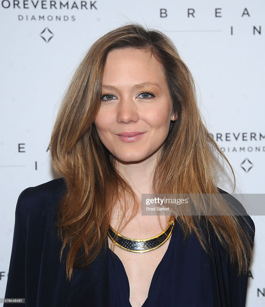 Louisa Krause attends the 'Breathe In' premiere at Sunshine Landmark on March 18, 2014 in New York City.