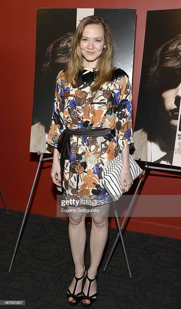 Louisa Krause attends 'The Double' screening at Landmark's Sunshine Cinema on April 30, 2014 in New York City.