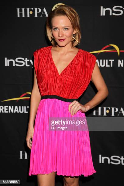 Louisa Krause attends The Hollywood Foreign Press Association and InStyle's annual celebrations of the 2017 Toronto International Film Festival at...