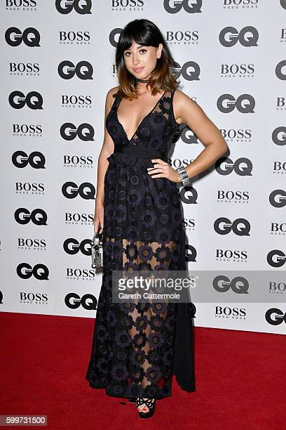 Louisa Rose Allen aka Foxes arrives for GQ Men Of The Year Awards 2016 at Tate Modern on September 6 2016 in London England
