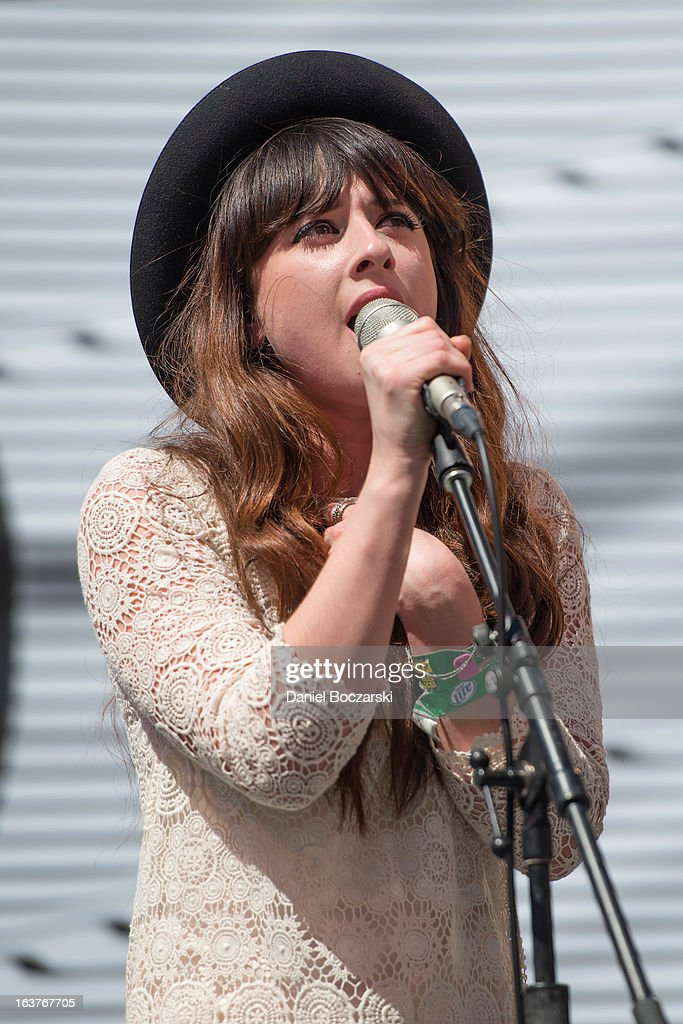 Louisa Rose Allen aka Foxes performs at Asos Music Lounge on Day 3 of SXSW 2013 Music Festival on March 14, 2013 in Austin, Texas.