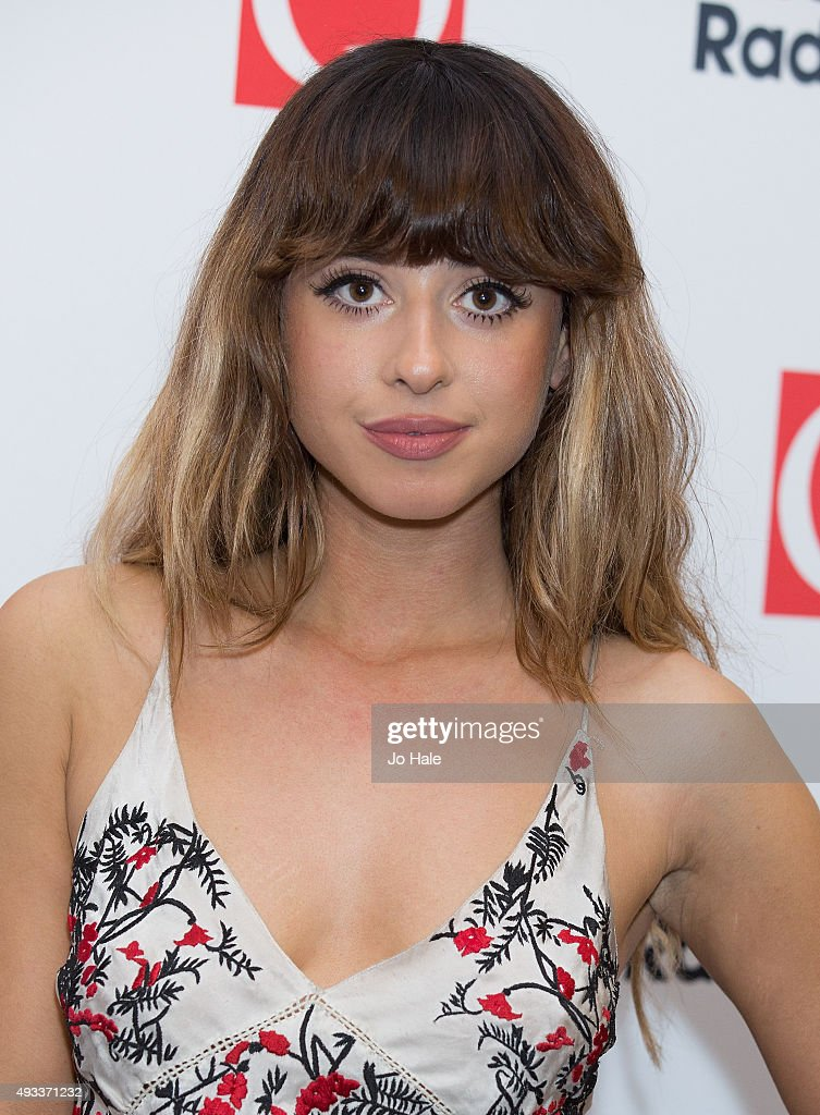 Louisa Rose Allen of Foxes attends the Q Awards 2015 at The Grosvenor House Hotel on October 19 2015 in London England