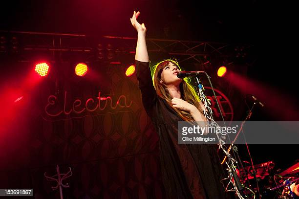 Louisa Rose Allen of Foxes performs on stage at O2 Academy Leicester on October 8 2012 in Leicester United Kingdom
