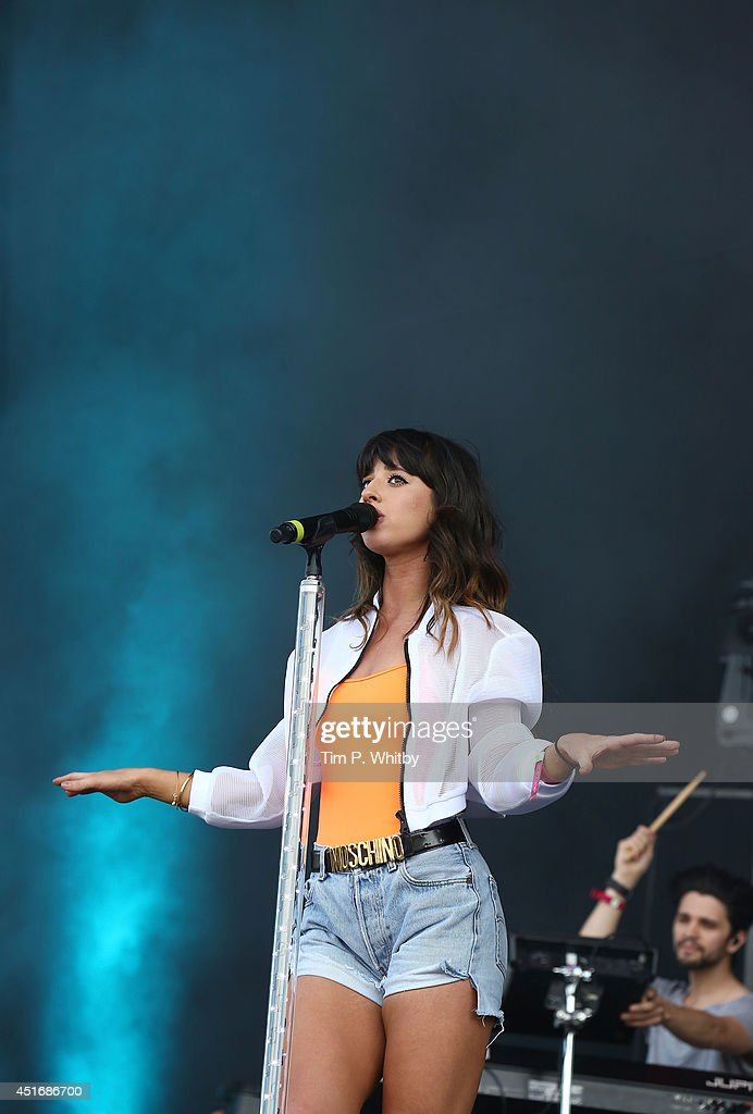 Louisa Rose Allen of Foxes performs on stage at Wireless Festival at Finsbury Park on July 4, 2014 in London, United Kingdom.