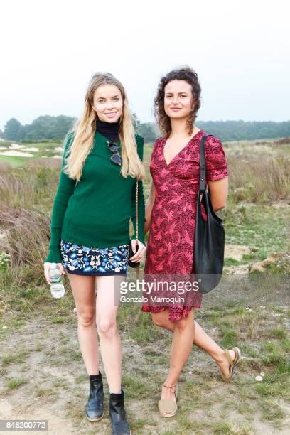 Louisa Warwick and Taline Arslanian attend 'The Bridge' 2017 on September 16 2017 in Bridgehampton New York