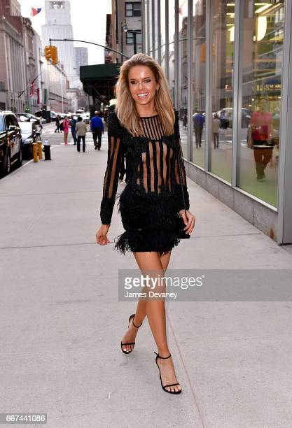 Louisa Warwick arrives to 'The Lost City of Z' screening at the Robin Williams Center For Media And Entertainment on April 11 2017 in New York City