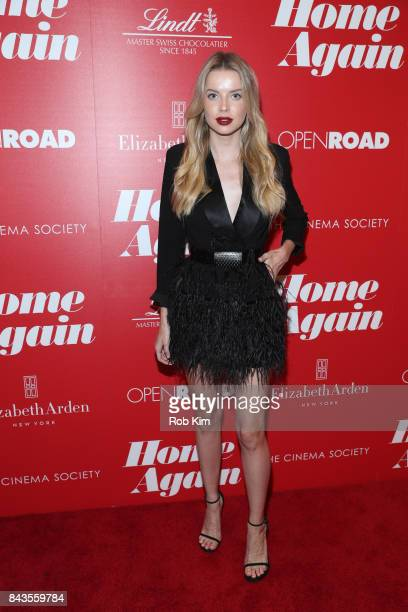 Louisa Warwick attends a screening of Open Road Films' 'Home Again' hosted by The Cinema Society at The Paley Center for Media on September 6 2017 in...